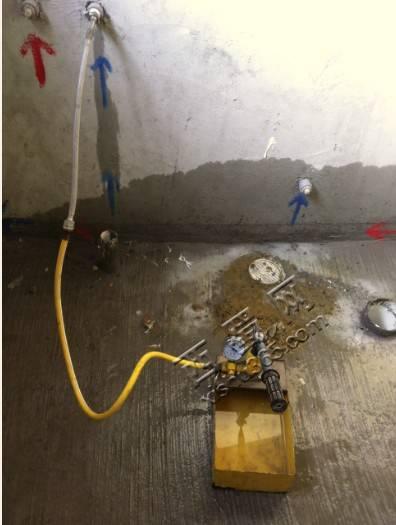 顺便告诉各位童鞋,新房子装修一定要检查水管,最怕水电出问题!