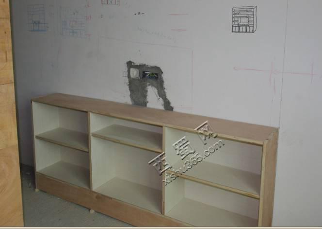 大卧室书柜下半部分