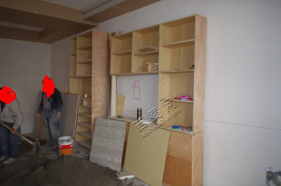 酒柜和鞋柜成型