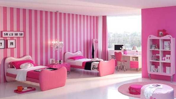 清新裝修風格圖片粉色