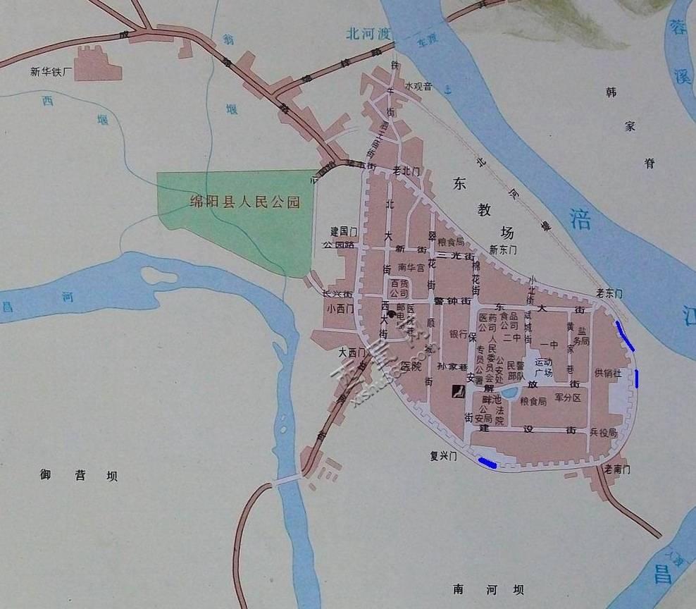1954年的绵阳城.jpg